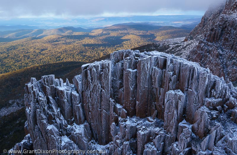 image of Ben Lomond frosted columns