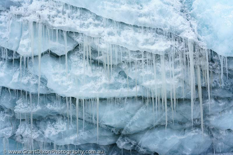 image of Glacier icicles 1