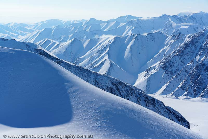 image of Bylot mountain ridges 9