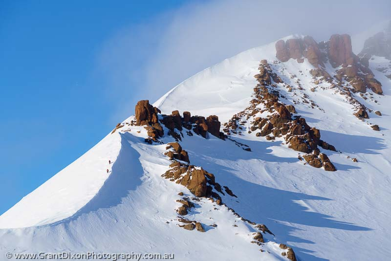 image of Bylot mountain ridge 2