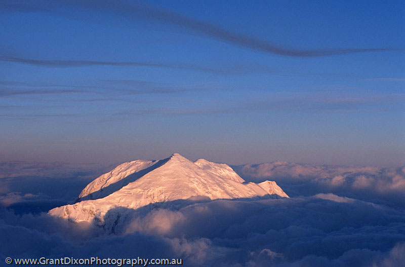 image of Mt Foraker dawn 1