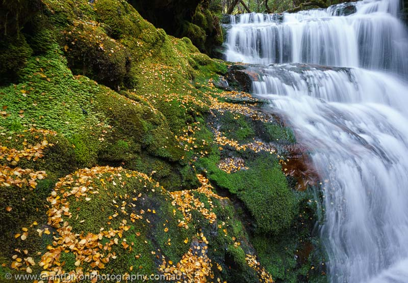 image of Autumn waterfall 2