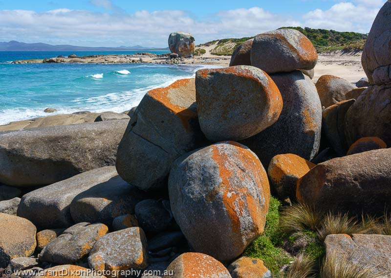 image of Marshall Bay boulders