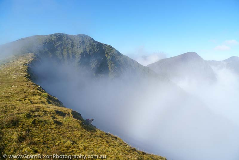 image of Macgillycuddy's Reeks mistbow 2
