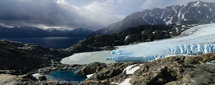 image of Strupbreen glacier