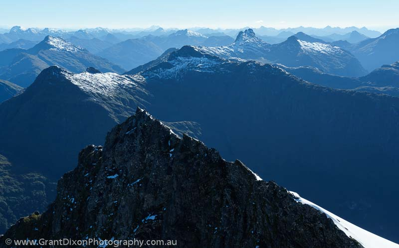 image of Fiordland ridges 1