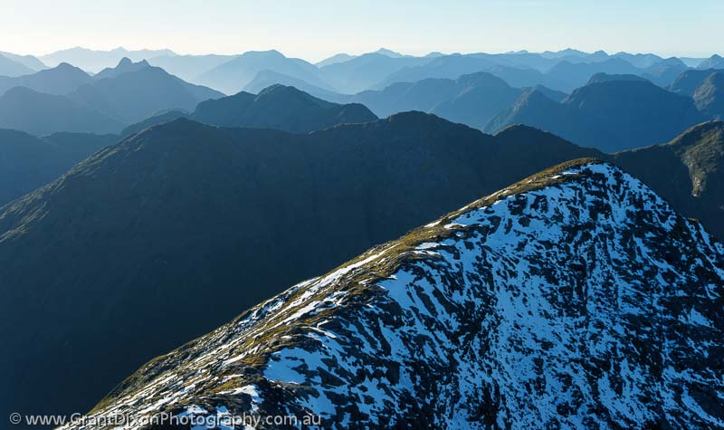 image of Fiordland ridges 2