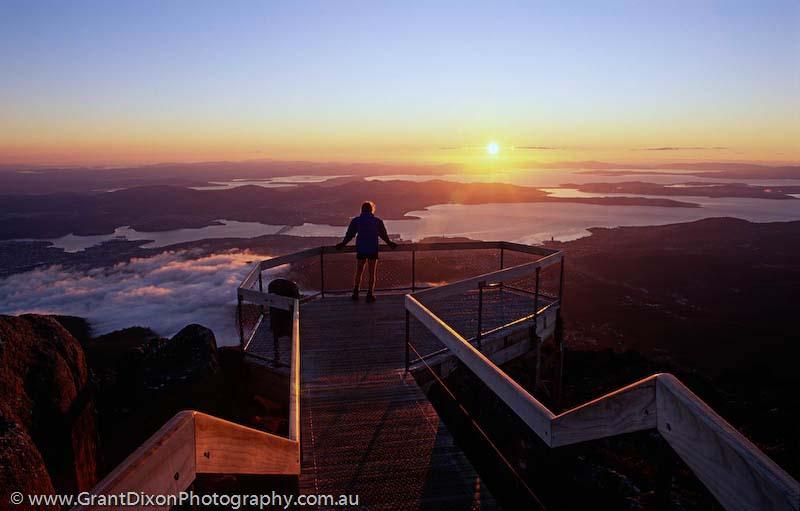 Mt Wellington Dawn Image By Australian Photographer