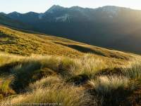 Mt Titiroa from Hunter Mountains, North Borland valley, Southland, New Zealand.