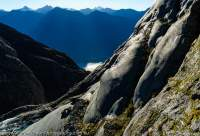 Donne Glacier, Darran Mountains, Fiordland National Park