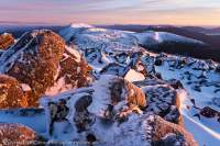 Winter, Snowy Range, Tasmanian Wilderness World Heritage Area